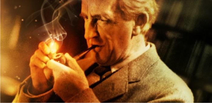 J. R. R. Tolkien. Imagen cortesía de The Tolkien Society.