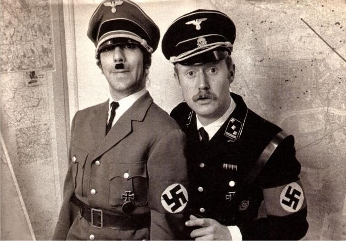 Keith Moon y Viv Stanshall. Imagen cortesía de Vivian Stanshall Archive.