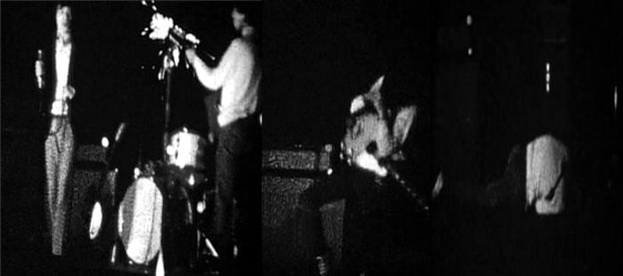 Momento en que Keith Richards es electrocutado por su guitarra. Sobrevivió, probablemente gracias al calzado, pero otros tuvieron menos suerte foto DP