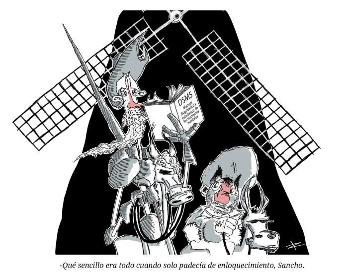 Tiempos modernosViñeta Quijote
