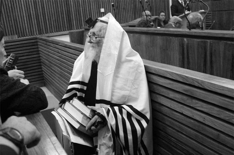 Berland en el juicio celebrado hace unos días en Sudáfrica. Fotografía cortesía de Randburg Sun.