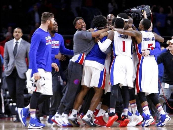 Detroit Pistons 2015/16. Foto cortesía de NBA.