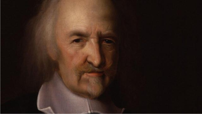 Retrato de Hobbes, por John Michael Wright. (DP)