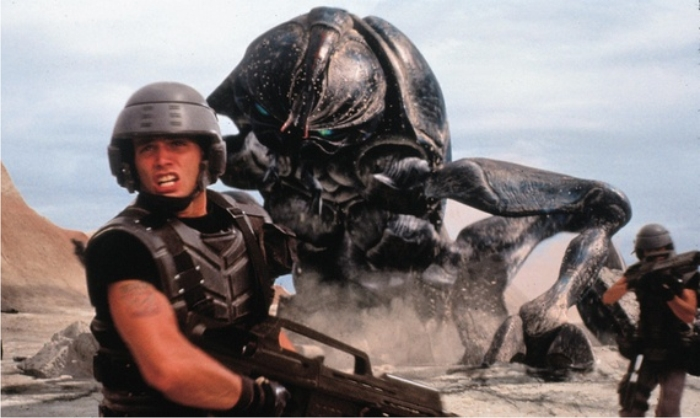 Starship troopers. Imagen: Sony Pictures.