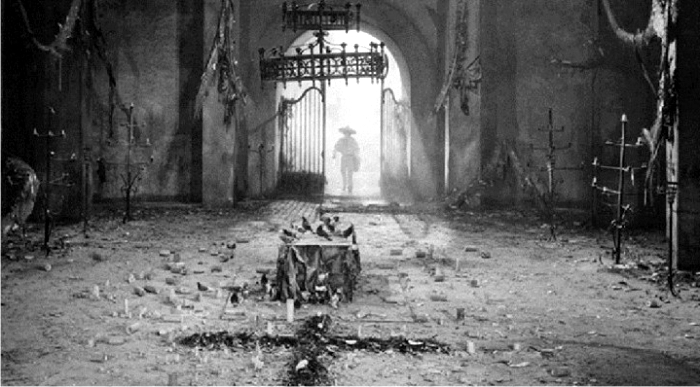 Fotograma de la adaptación cinematográfica de Pedro Páramo. Imagen: Clasa Films Mundiales.