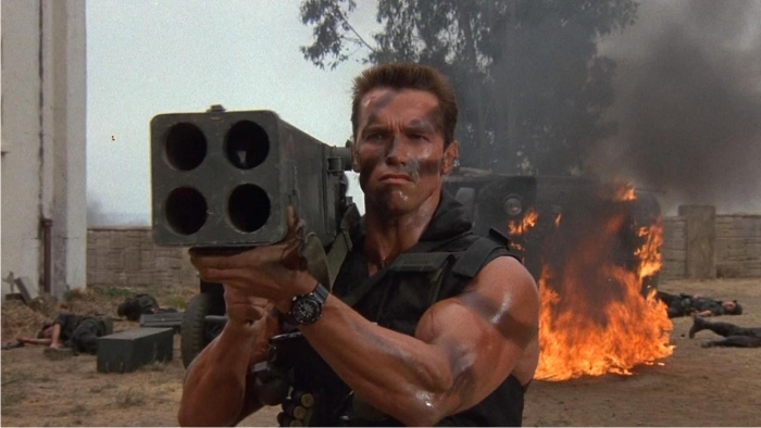 Se reían de su acento pero ignoraban que Arnold podía con todo. Imagen: 20th Century Fox.