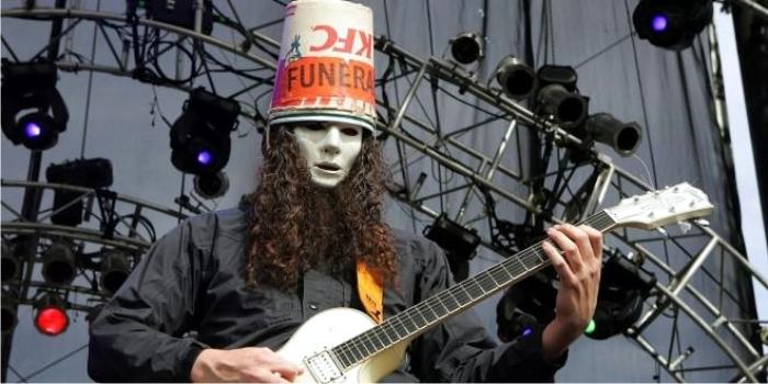 Buckethead, el fichaje más genial de Axl Rose. Foto: Jhayne (CC)