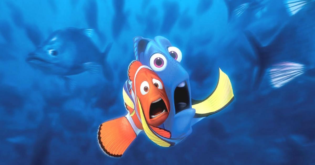 Buscando a Nemo. Imagen: Walt Disney Pictures