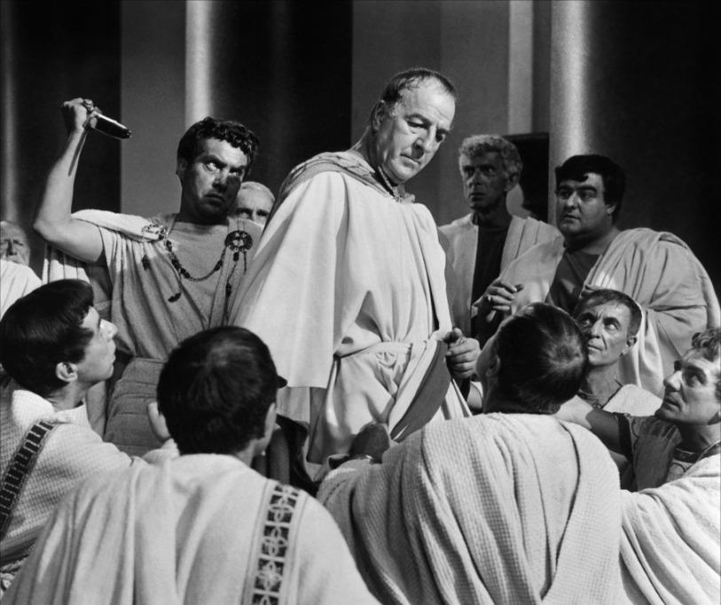 Julio César, 1953. Imagen: Metro-Goldwyn-Mayer.