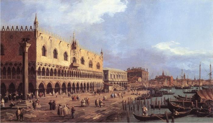 Venecia, de Giovanni Antonio Canaletto.