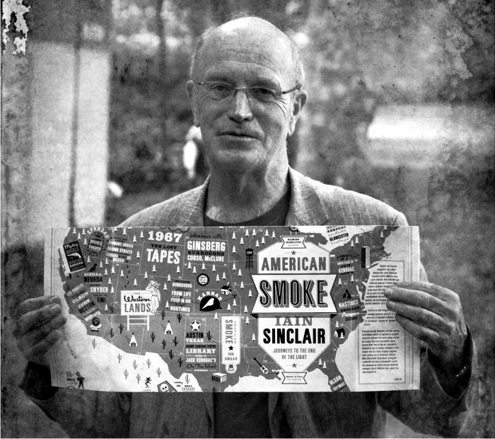 Iain Sinclair. Foto cortesía de www.iainsinclair.org
