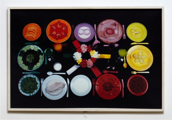 Sophie Calle, The chromatic diet. Imagen cortesía de Colour Master.