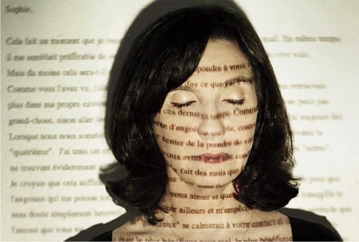 Sophie Calle, autorretrato.