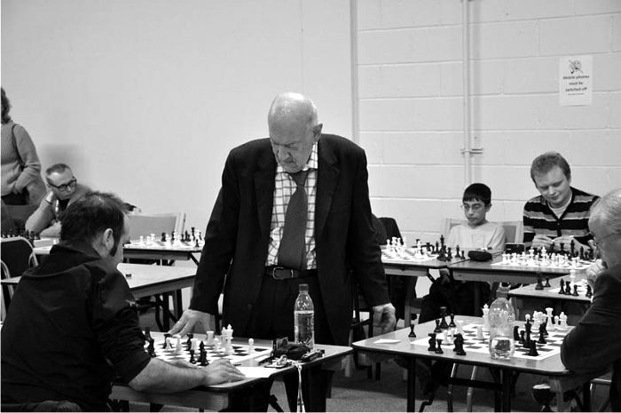 Víktor Korchnói en la London Chess Classic de 2010. Foto: Paweł Grochowalski (CC)