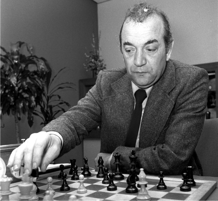 Víktor Korchnói en 1976. Foto: Dutch National Archives (CC)
