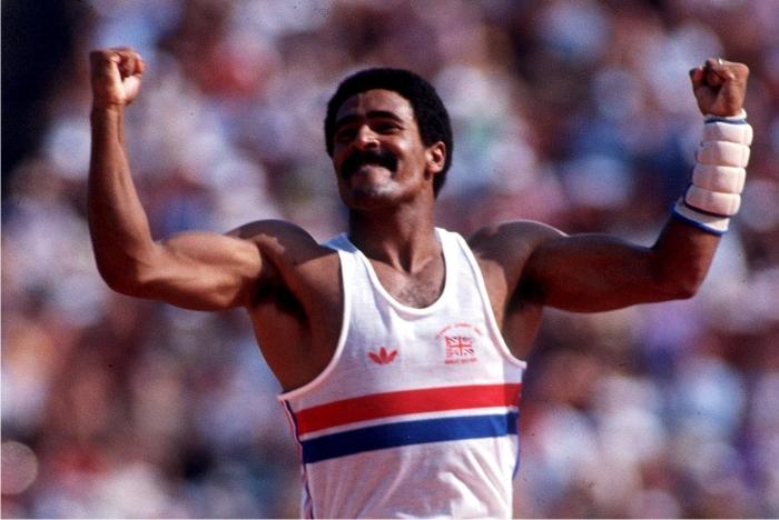 El atleta 10 en Los Ángeles fue Daley Thompson, thompson twin de Richard Pryor y del coctelero de Vacaciones en el mar.