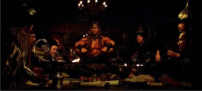 Conan el bárbaro, imagen de Dino de Laurentiis Productions.