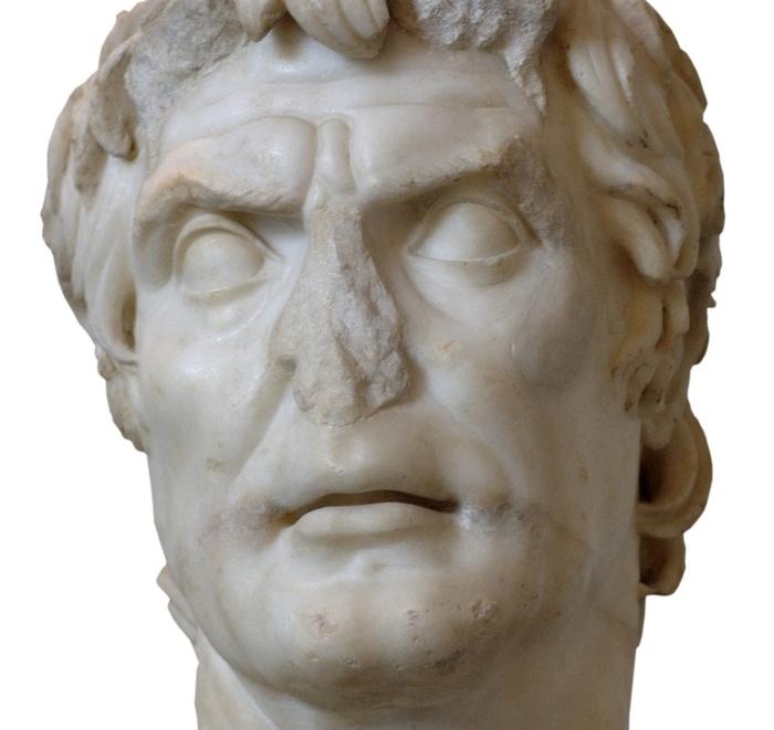 Busto de Lucio Cornelio Sila, siglo II d.C. Imagen: (DP).
