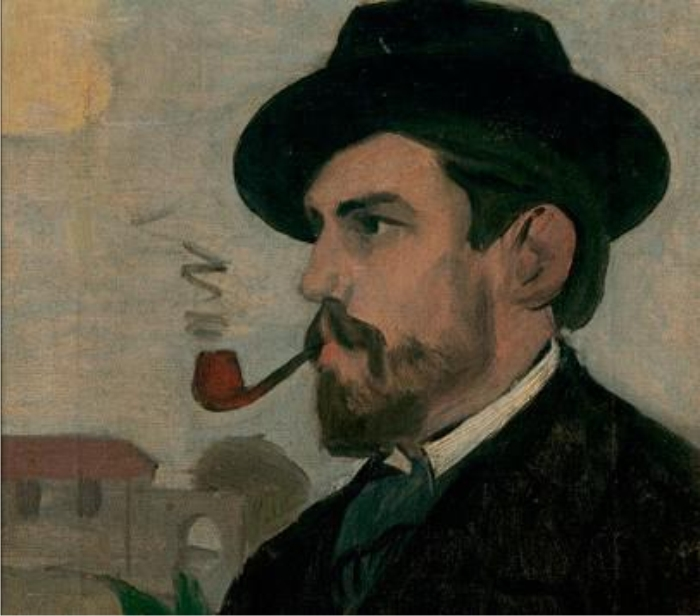 Autorretrato. c. 1902. Sucesión Joaquín Torres-García.
