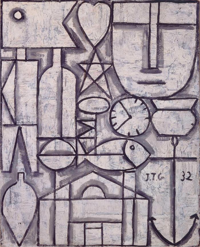 Arte constructivo. 1932. Colección privada, Suiza. Sucesión Joaquín Torres-García.