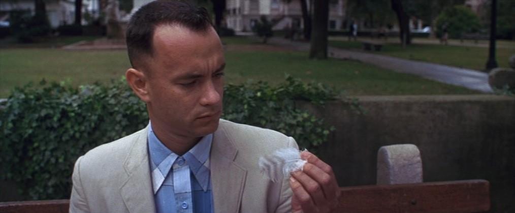 Forrest Gump, 1994. Imagen: Paramount Pictures.