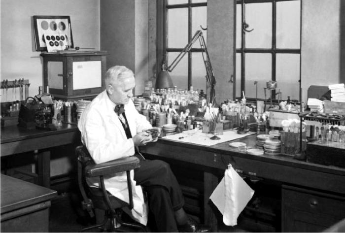 Alexander Fleming. Foto: Imperial War Museum (DP)