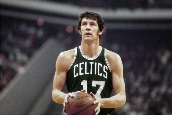 John Havlicek. Foto cortesía de NBA.