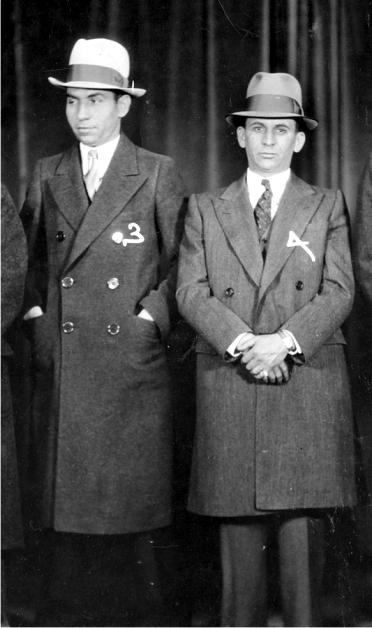 Lucky Luciano y Meyer Lansky en 1932. Foto: DP.
