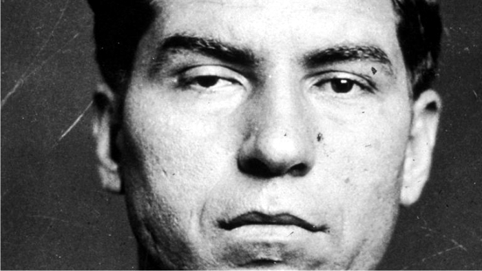 Lucky Luciano. Foto New York Police Department (DP)