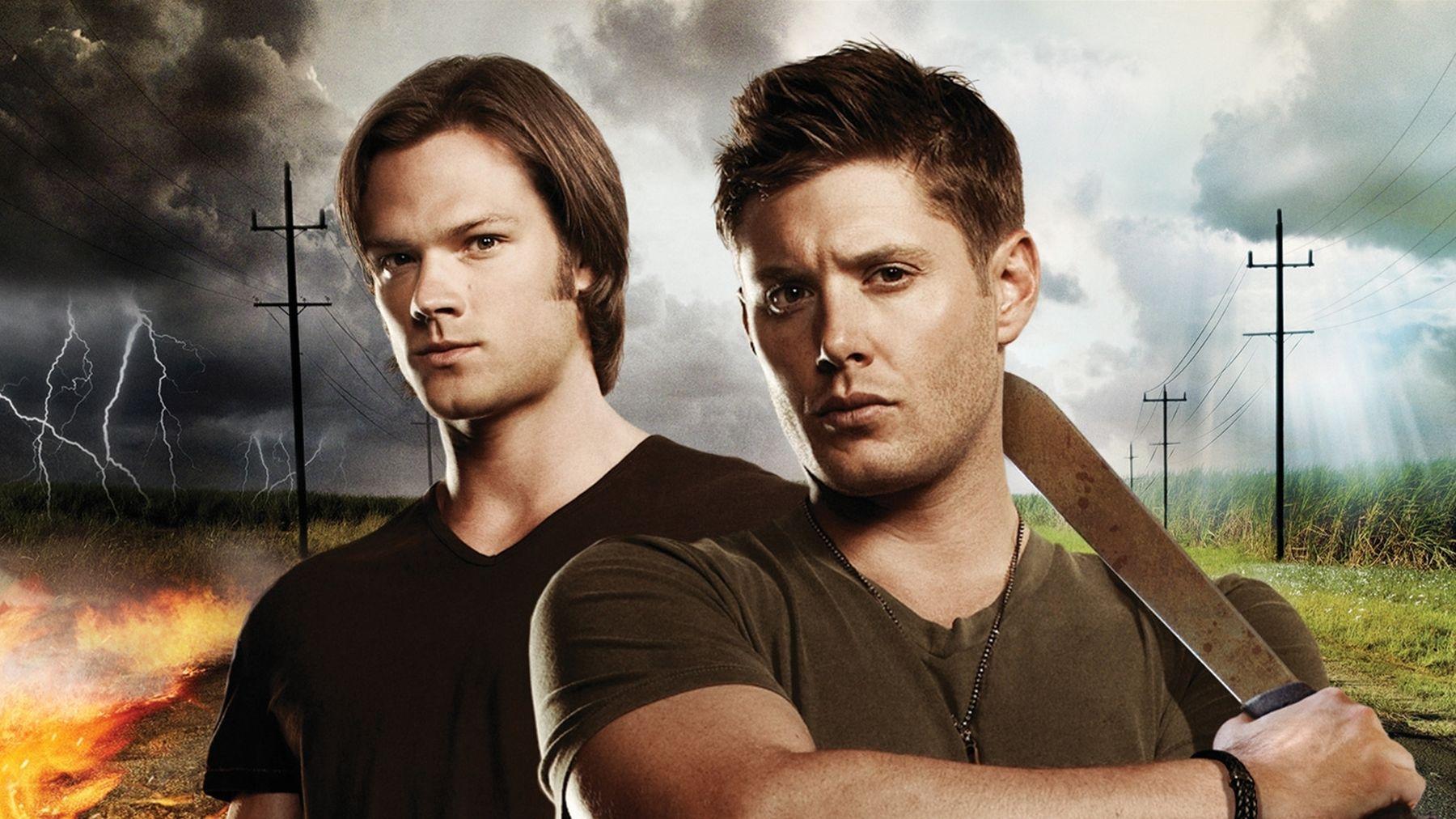 Para muchos escritores de fanfics el error en este montaje es que no se estén montando carnalmente. Supernatural. Imagen: The CW