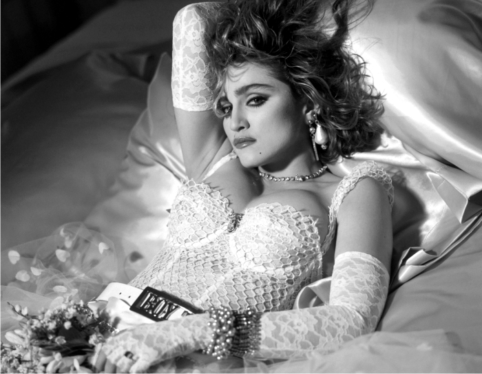 Madonna like a virgin. Imagen: Warner Bros.