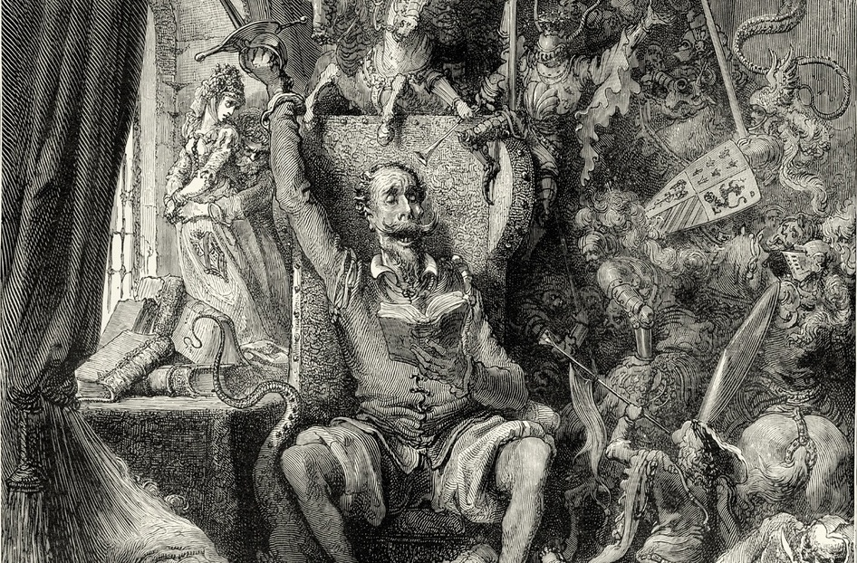 Don Quijote. Gustave Doré (1863)