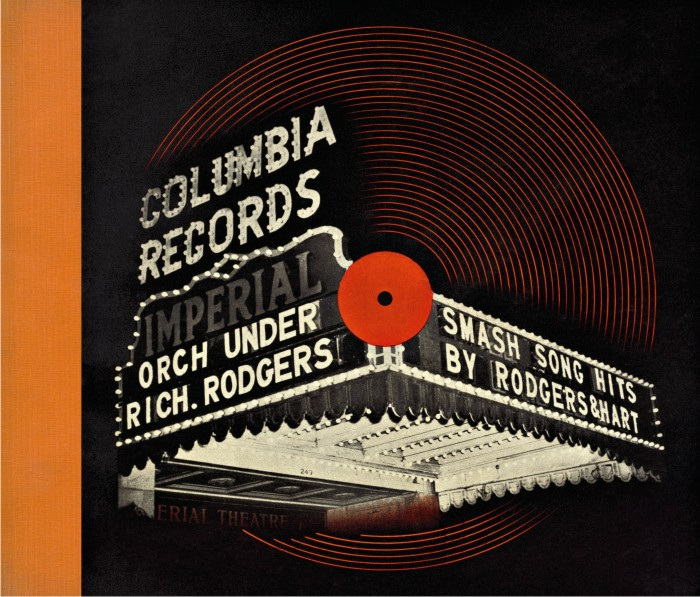 1) Portada de Smash song hits by Rodgers & Hart, 1940. Imagen: Alex Steinweiss / Columbia Records.