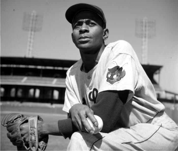 Satchel Paige. Foto cortesía de Baseball Hall of Fame.