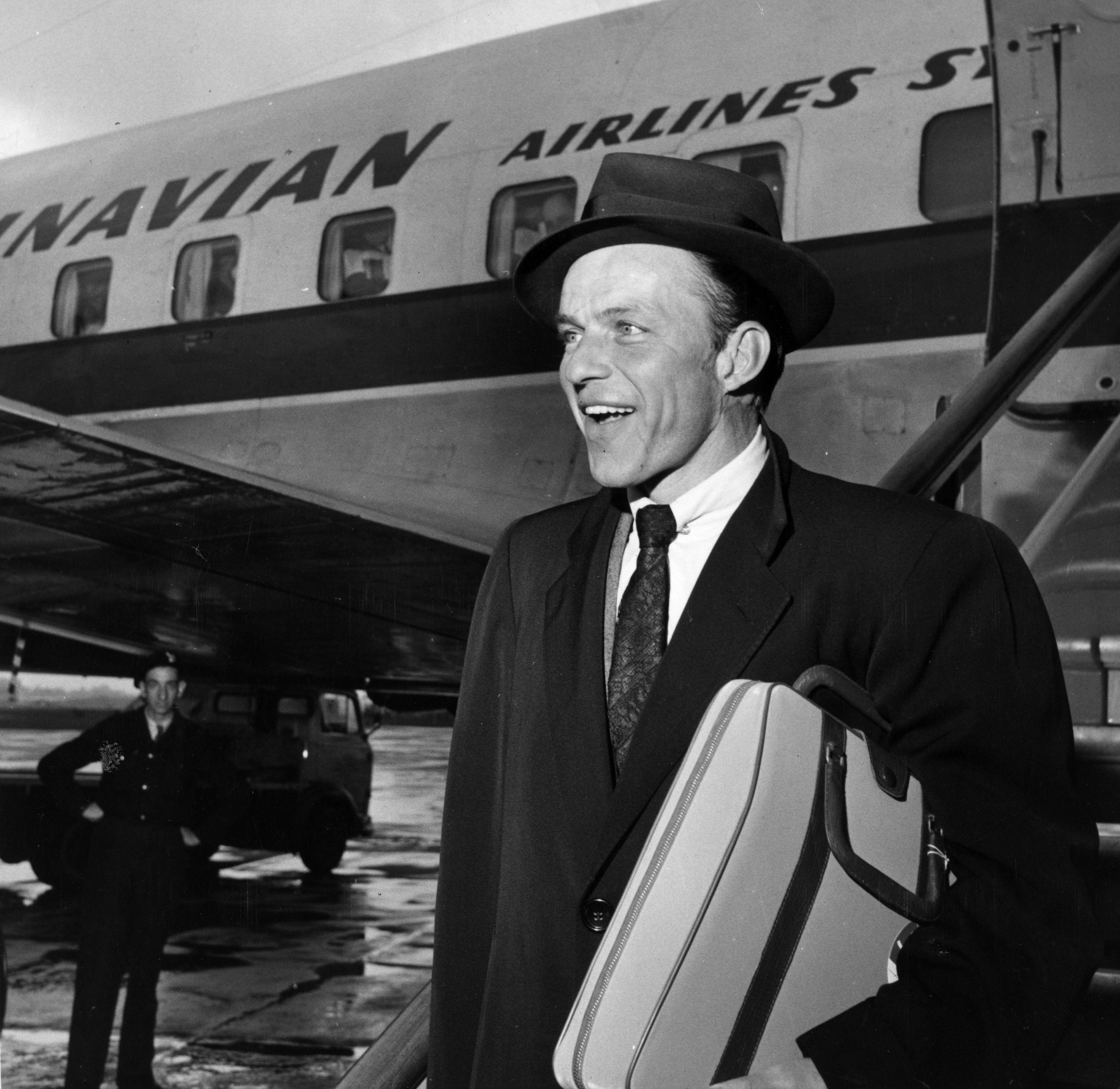 Frank Sinatra en 1953. Foto: Getty Images.