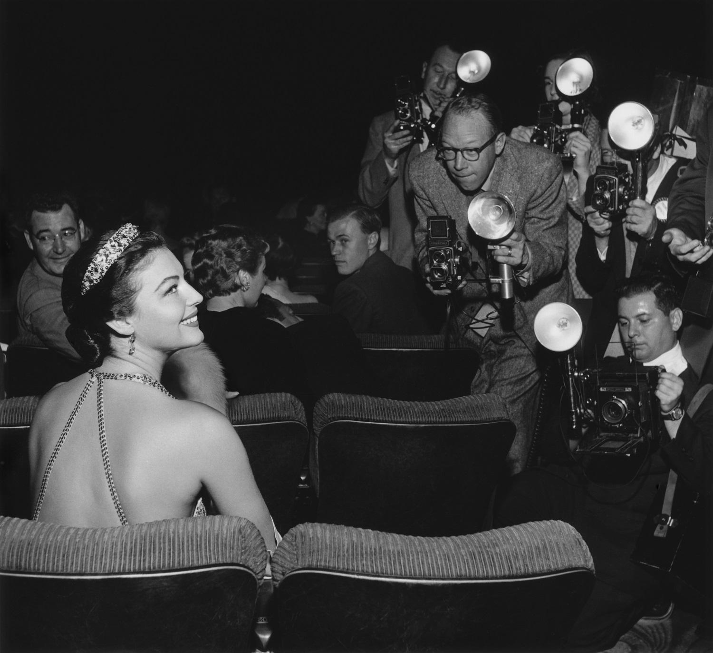 Ava Gardner, 1954. Fotografía: Getty Images.