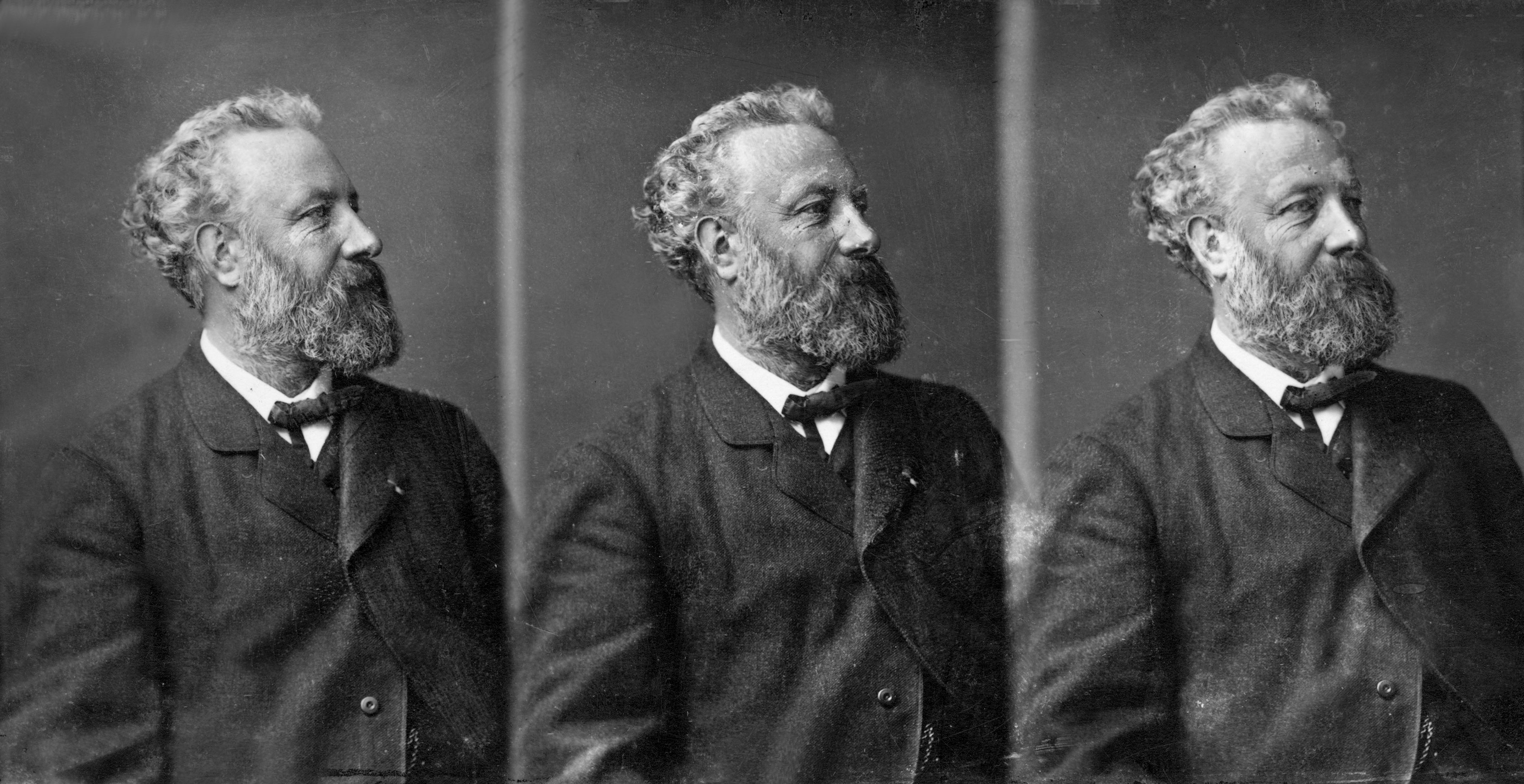 UNSPECIFIED - MARCH 18: writer Jules Verne (1828-1905) in 1875 (Photo by Apic/Getty Images)