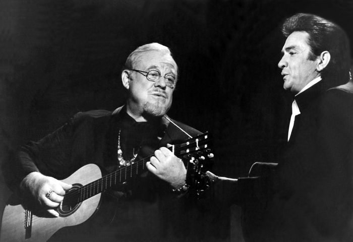 THE JOHNNY CASH SHOW, Burl Ives, Johnny Cash, 1969-1971, 1970 episode