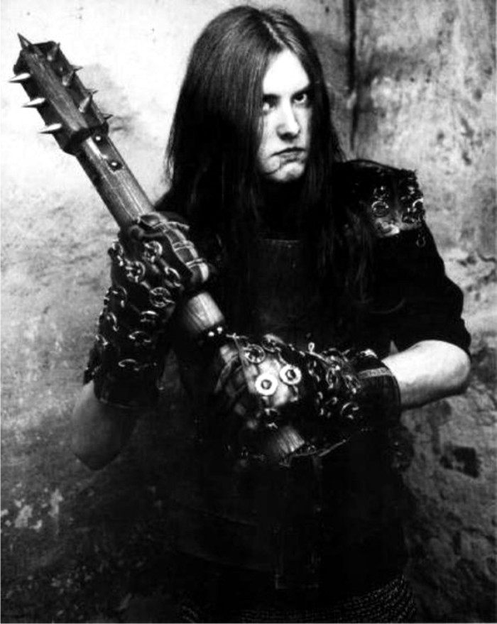 Varg Vikernes, sacerdote de Odín de nivel 15. Foto: DP.