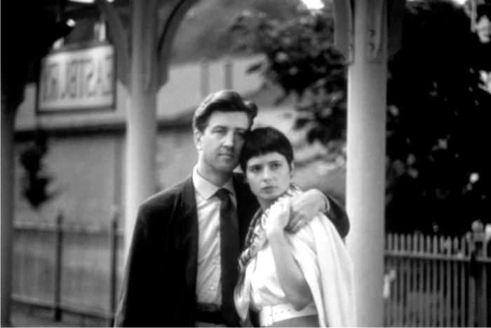 David Lynch con Isabella Rossellini en Zelly and me. Imagen: Columbia Pictures.