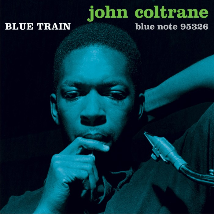 Portada de Blue Train, 1957. Imagen: Reid Miles / Blue Note Records.