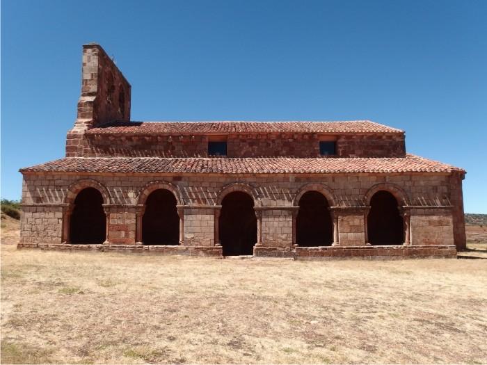 Iglesia de Tiermes.