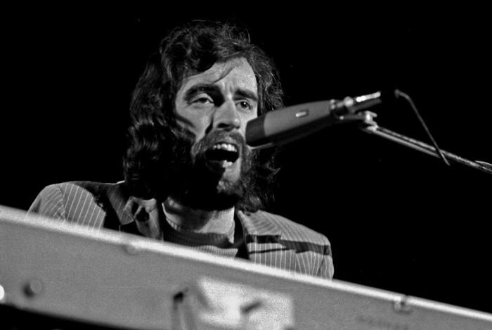 Richard Manuel, 1971. Fotografía: Heinrich Klaffs (CC).