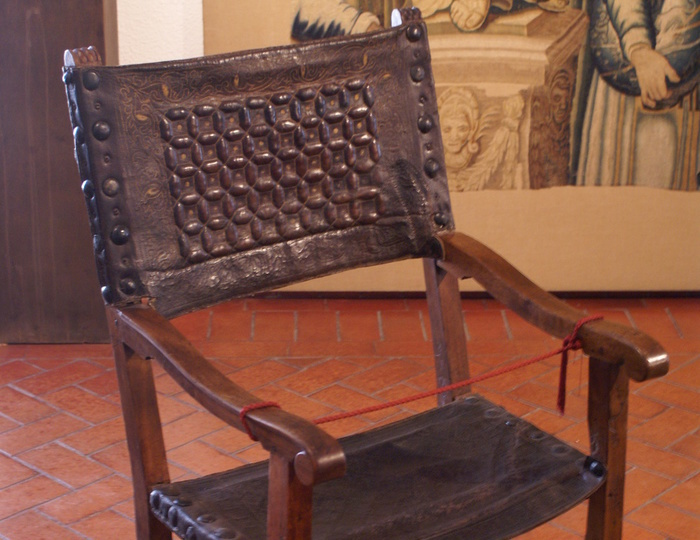 El sillón del Diablo, conservado en el