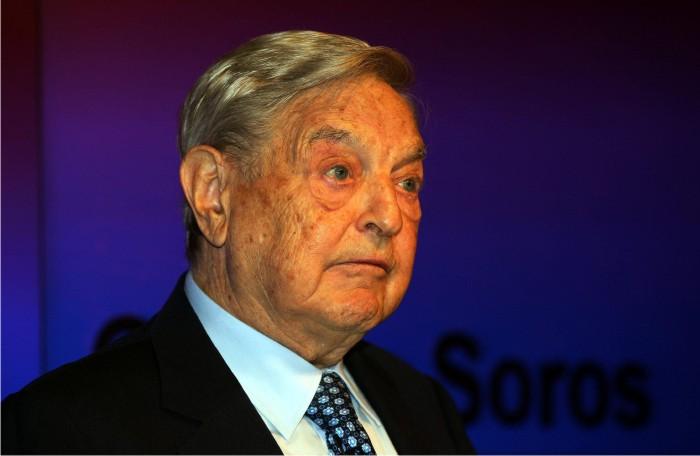 George Soros. Foto: Cordon.