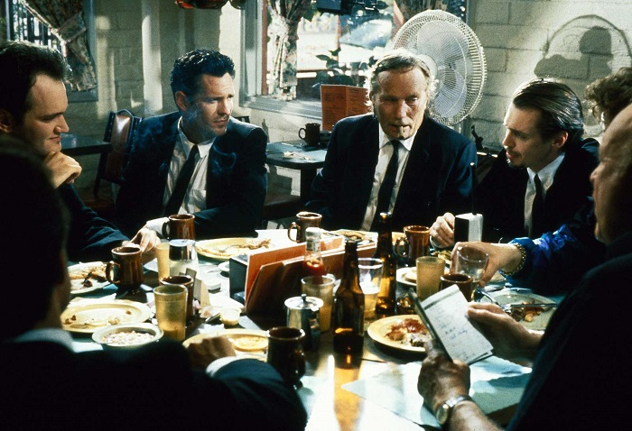 Reservoir Dogs, 1992. Imagen: Live Entertainment / Dog Eat Dog Productions.