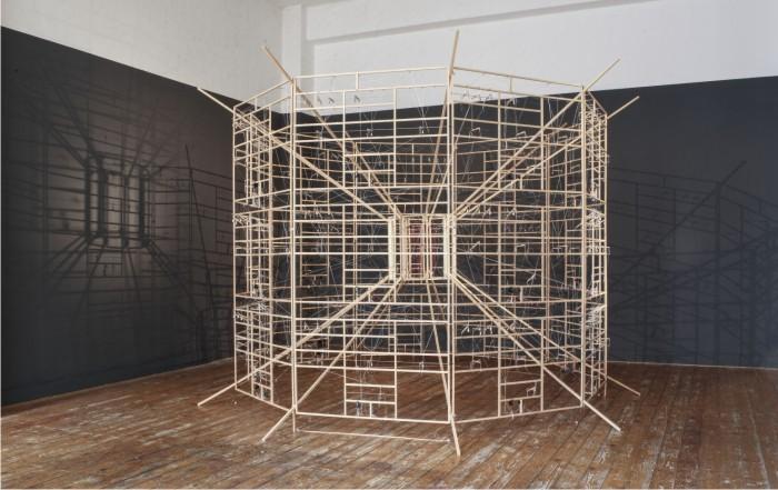 Ralf Baecker. Rechnender Raum (Espacio de cálculo), 2007.