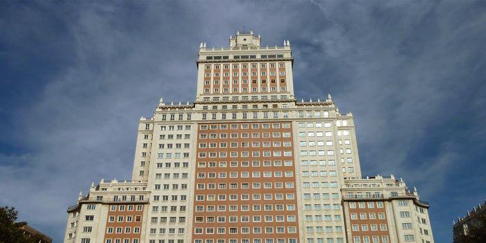 Edificio España, 2012. Imagen: Víctor Moreno Rodríguez PC / Zentropa.