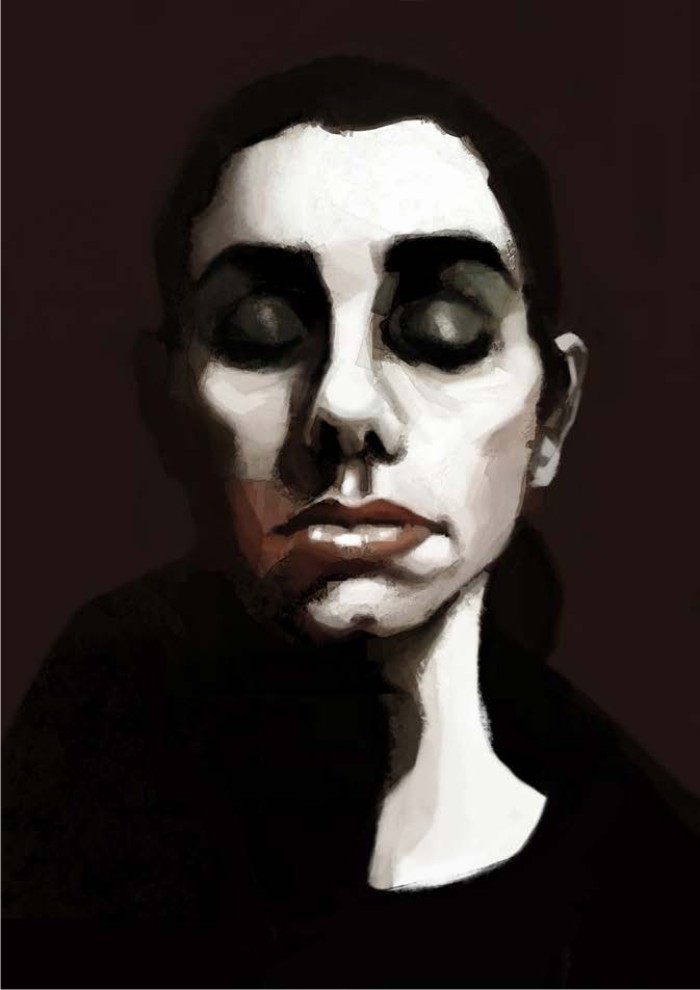 PJ Harvey. Ilustración: Alejandro Basteiro.