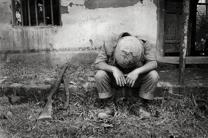 Universal Soilder, de Tim Page. Imagen tomada del documental Vietnam's unseen war. Pictures from the other side, 2002.